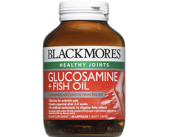Blackmores Fish oil and glucosamine 90 viên